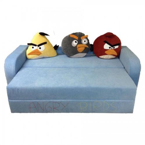 Детский диван Angry Birds 2