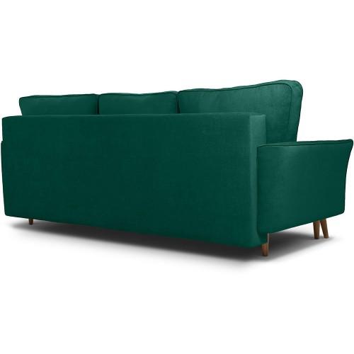 Диван Верона вельвет зеленый