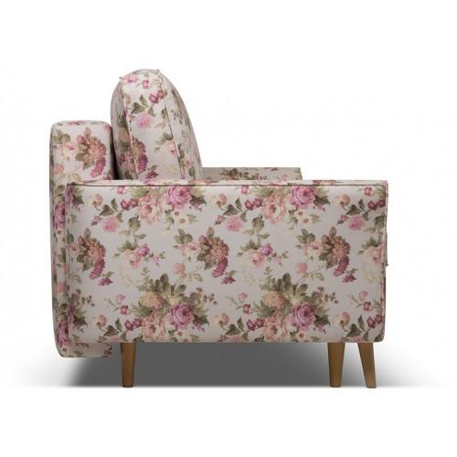 Диван Верона розовые цветы