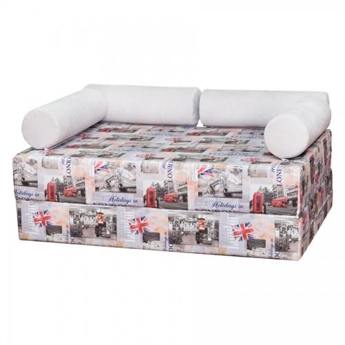 бескаркасный диван брикс