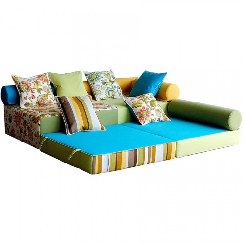 бескаркасный диван карусель
