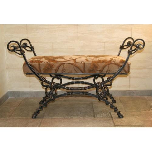 Кованый диван Индиго
