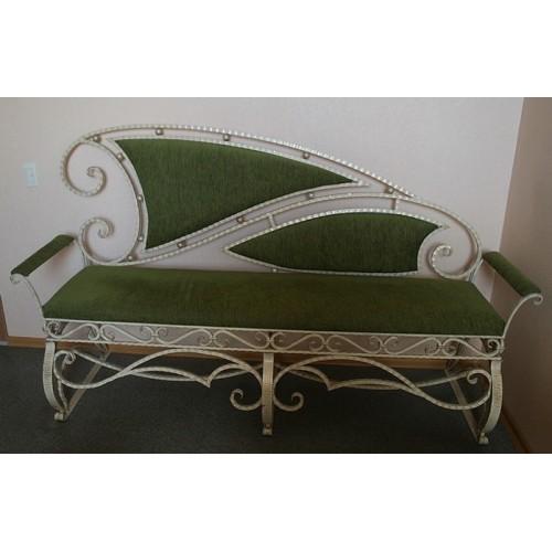 Кованый диван Малибу