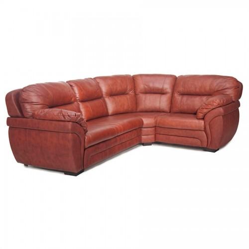 Угловой кожаный диван Бристоль