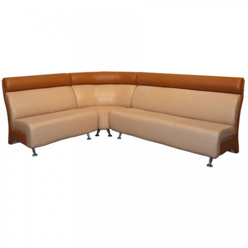 Офисный угловой диван Росини