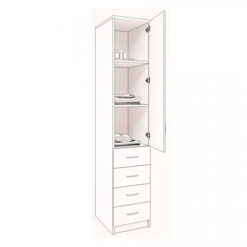Шкаф распашной ш17