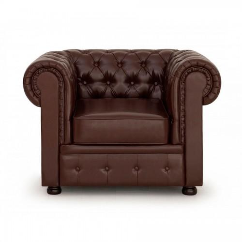 Кожаное кресло Честерфилд
