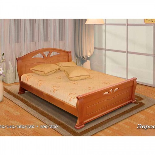 Деревянная кровать Эврос