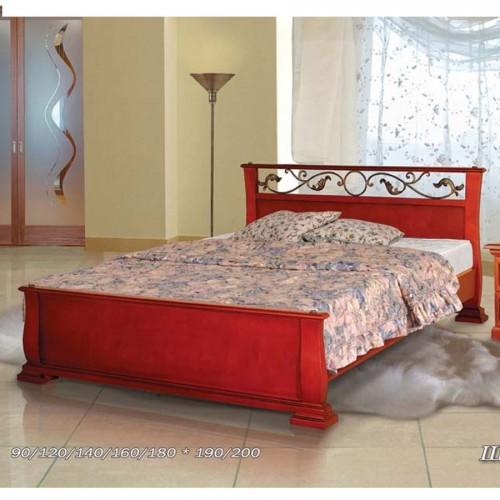 Кровать с ковкой Шармель-2А