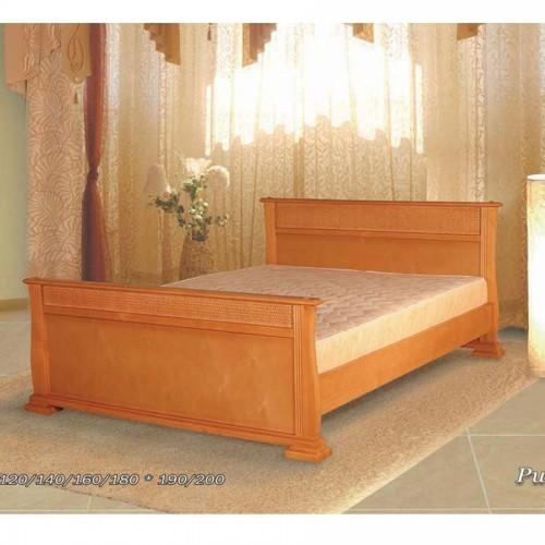 Кровать с ротангом Рио-1А