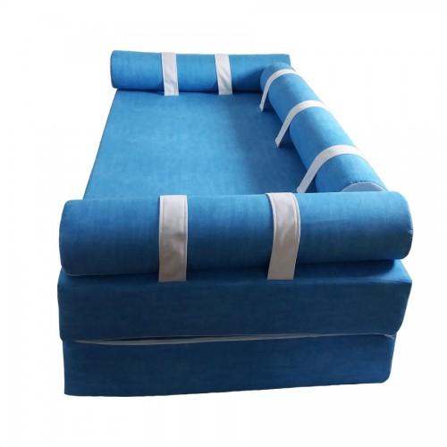 бескаркасный диван ред