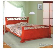 Кровать с ковкой Шармель-1А
