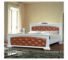 Кровать с кожей Амазонка-1А